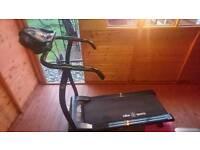 Running machine, treadmill