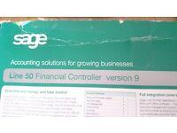 Sage Line 50 version 9