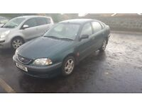 2002 Toyota avenis mot till may 18 new clutch fitted