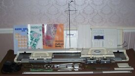 TOP OF THE BROTHER KNITTING MACHINE RANGE ONLY VERY RARELY SEEN FOR SALE