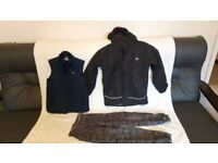 boys size 7-8 winter coat, gillet and trousers - BARGAIN!