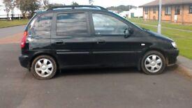 Hyundai Matrix MPV (05), Black, Manual, Petrol 91,300m
