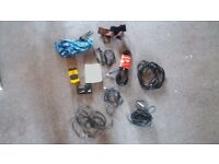 Job lot of Guitar accessories, Leads Jacks, Straps, Tuner, Effects Pedal £30 ono