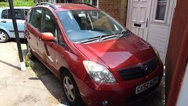 Toyota Corolla verso 2.0 diesel manual still available