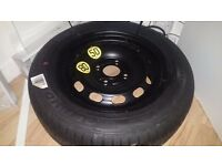 FORD FIESTA SPARE TIRE AND WHEEL COMPLETE