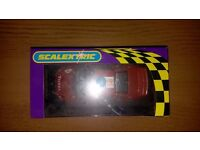Scalextric car - MINT CONDITION boxedPeugeot 307 rally car