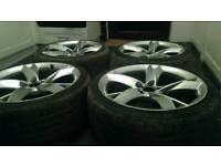 "19"" 5x112 Audi a5 alloys with excellent tyres"