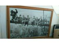Large Sized Framed Picture