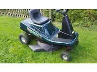 Hayter ride on lawnmower 2004 model