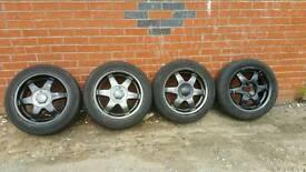 Rare Vauxhall Vectra SuperTouring Alloys
