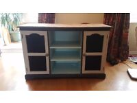 Upcycled console table / end table / tv cabinet
