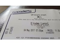 3x Tickets DMA's at 02 Academy 4th May