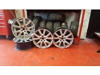 Vw Mk6 mk7 18 inch original wheels