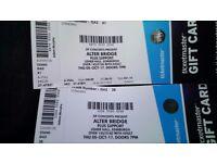 2 Alter Bridge Tickets. 5th October. Usher hall