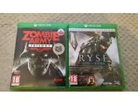 Xbox one polska wersja 2 gry PL