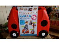trunkie ride on kids suitcase(ladybird)