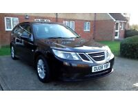 SAAB 9-3 LINEAR SE 1.9 TID ESTATE DIESEL 6 SPEED MANUAL FULL SERVICE HISTORY HPI CLEAR 07463153817