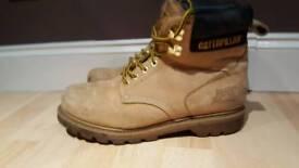Carerpillar boots size 9
