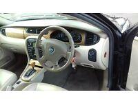 jaguar X Type v6 auto 2.5/ full service history