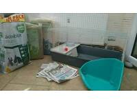 ALL YOU NEED starter kit for a bunny rabbit/Guinea-pig/indoor cage