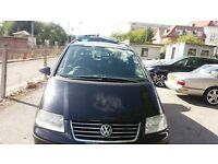 PCO 7 SEATER VW SHARAN FOR SALE.