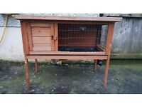 Small rabbit hutch or guinea pig