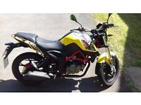 Excellent condition ksr moto 125 looks and feels like a ktm duke