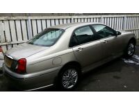 Rover 75 V6, Low Mileage, Jaguar Shape, MOT, cheap car