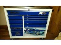 """Limited edition 42"""" ford snap on tool box with stainless steel top"""