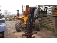 McConnell rear tractor mounted forklift £450