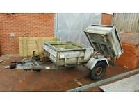 Indespension 8x4 galvanised multi purpose tipper trailer