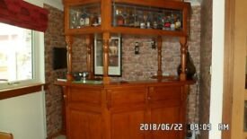 Quality Wooden Home Bar