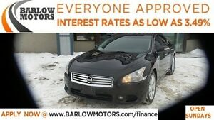 2012 Nissan Maxima SV *EVERYONE APPROVED* APPLY NOW DRIVE NOW.