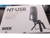 new rode usb microphone