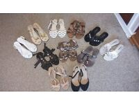 Ladies Summer Sandals / Shoes Size 5 (£4 each)