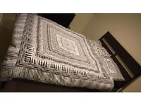 Double bed with mattress, excellent condition, Ikea quality, just a year old.