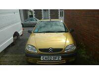 Citreon saxo, 1360cc stainless steel exhaust, new mot