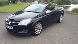 Vauxhall Astra Twintop 2.0 SRI 16v 2007 plate
