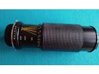 MC Sunagor Auto zoom 1:5.6 f=75-300mm Telephoto lens