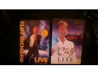 Cliff Richard DVDS