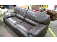 Leather look a like sofa new in to our Bilston branch