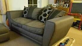 Scatter back sofa