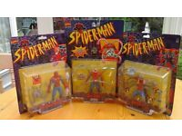 Spider-man figures marvel comics