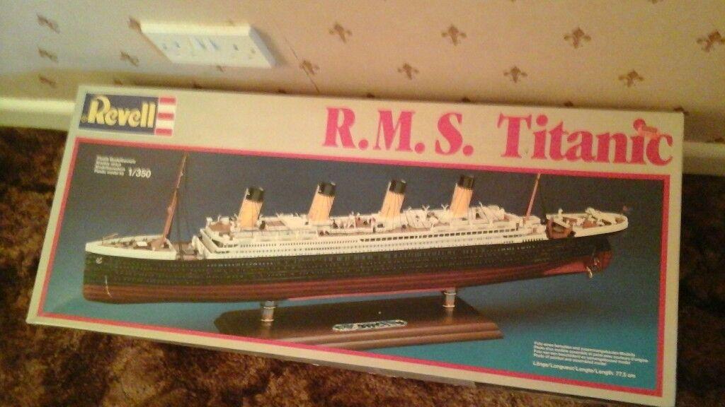 RMS TITANIC MODEL KIT