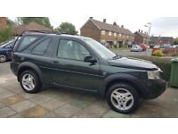 Land Rover Freelander TD4, Very good condition female owner, p.s.h £2100(ono)