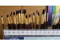 Paint brushes Winsor and Newton Galleria