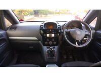 Vauxhall Zafira 7 Seater Good Mileage MOT to end Aug 2017