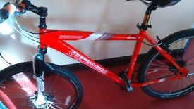 Hardrock specialized mountian bike