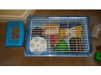 Huge hamster cage & accessories