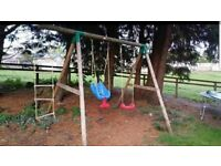 Little Tikes outdoor Swing/climbing frame.